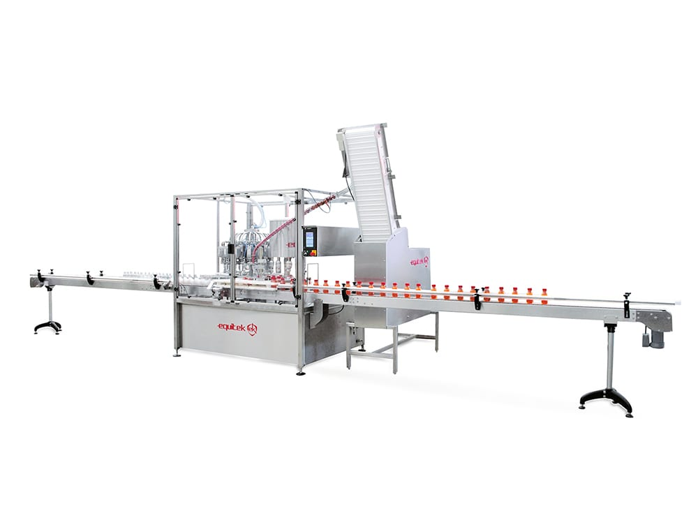 Maquina para Dosificadora de liquidos - Equitek