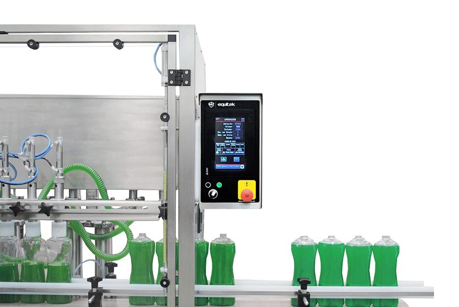 DVL- llenadora de líquidos y espumosos - Equitek